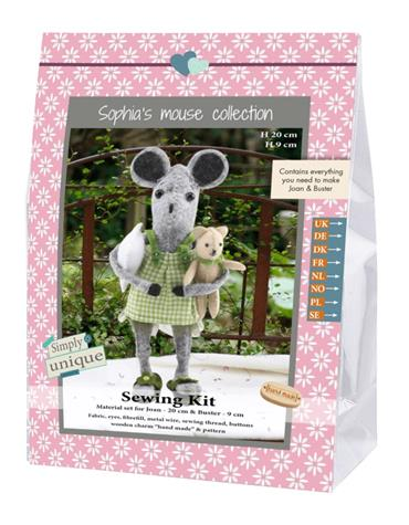 Kits - Sewing Kit - Joan and Buster