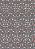 Liberty Fabric - Winterbourne Collection - Bankart Fresco Grey