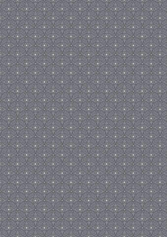 Liberty Fabric - Winterbourne Collection - Nettlefold Grey