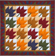 Quilt Kit - Leaves