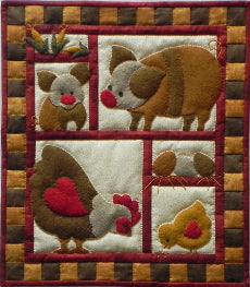 Quilt Kits - Quilt Kit  Ham and Eggs