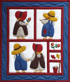 Quilt Kit - Sue & Sam