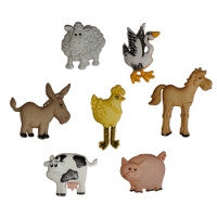 Buttons - Novelty Animals and Bird Buttons
