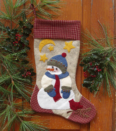 Quilt Kit - Mini Snowman Stocking