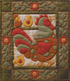 Quilt Kit - Spotty Rooster
