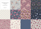 Liberty Fabric - Winterbourne Collection - Winterbourne Bouquet pink