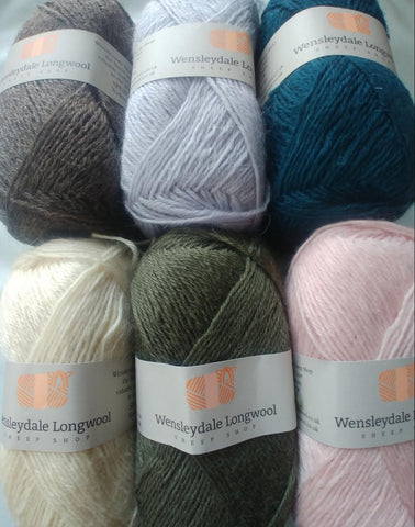 Kits- Wensleydale Longwool Double Knit