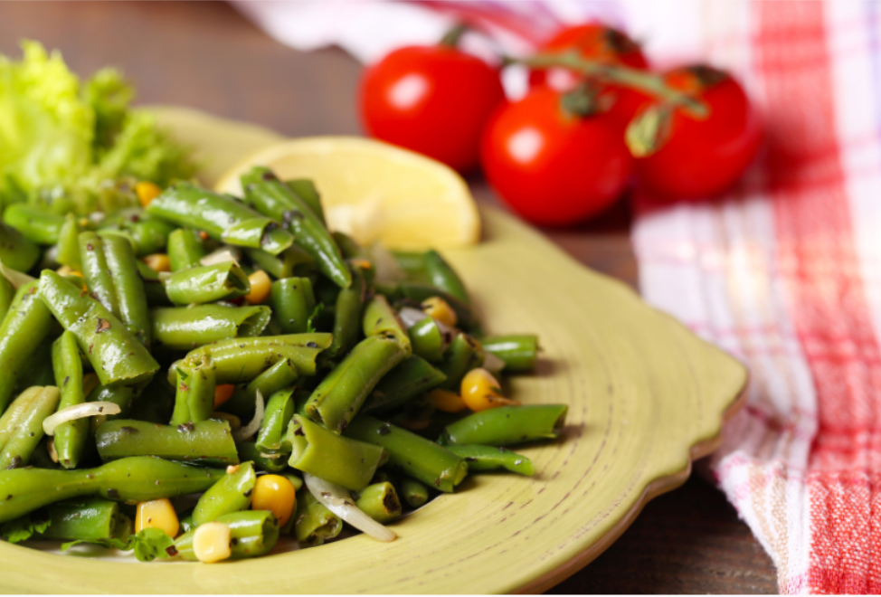 Start Off Your Healthy Eating Week Right with Our Green Beans