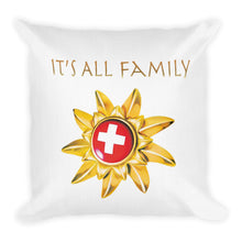 "Load image into Gallery viewer, ""Constance, It's All Family"" Pillow"