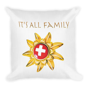 """Constance, It's All Family"" Pillow"