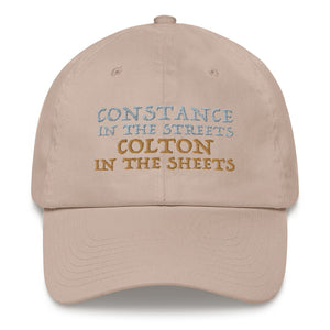 """Constance vs Colton"" Hat"