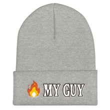"Load image into Gallery viewer, ""Fire My Guy"" Beanie"
