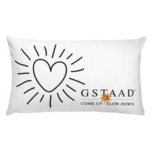 "Load image into Gallery viewer, ""One Kiss, Two Kiss"" Pillow"
