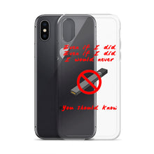 "Load image into Gallery viewer, ""No Juuling"" iPhone Case"