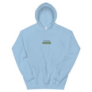 """Close Friends"" Embroidered Hoodie"