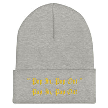 "Load image into Gallery viewer, ""Pop In, Pop Out"" Beanie"