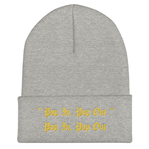 """Pop In, Pop Out"" Beanie"