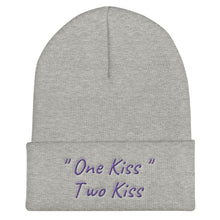 "Load image into Gallery viewer, ""One Kiss, Two Kiss"" Beanie"