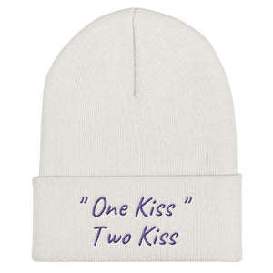 """One Kiss, Two Kiss"" Beanie"