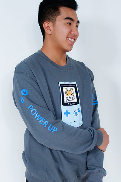 Game Fun ! Video Game Shiba Inu Sweatshirt