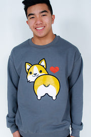 I love Corgi Butt Sweatshirt