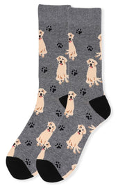 Men's Fun Labrador Retriever Dog Crew Socks