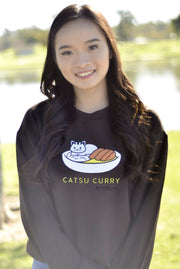 Catsu Curry Kitty Cat Sweatshirt