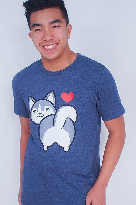 I love Husky Butt T-Shirt