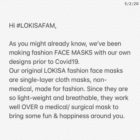 LOKISA SHARITY MASKS pt2