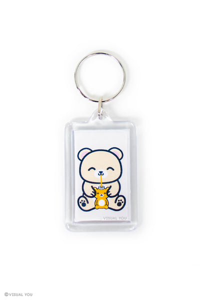 Honey Bear Keychain