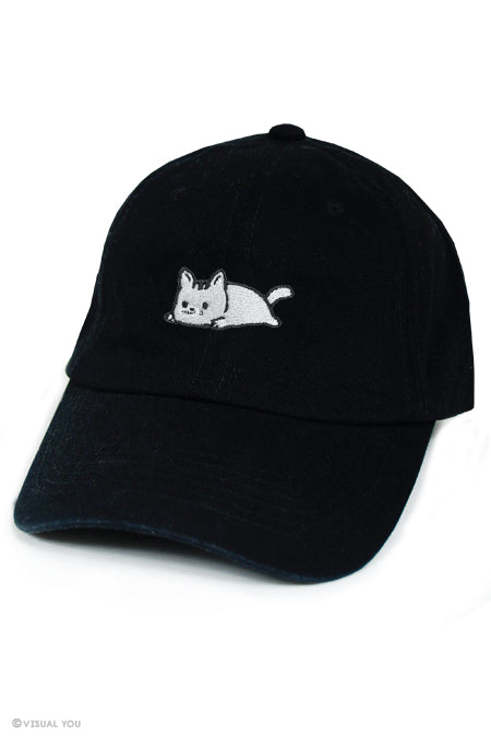 Relaxing Kitty Baseball Cap