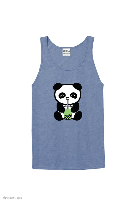 Bubble Tea Boba Panda Tank Top