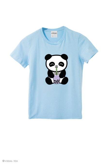 Bubble Tea Boba Panda T-Shirt (Kids)