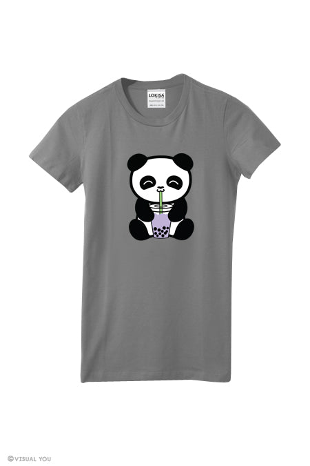 Bubble Tea Boba Panda T-Shirt
