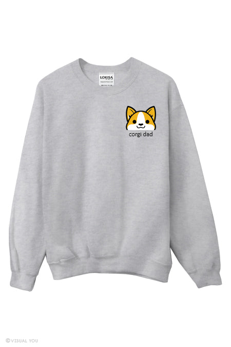 Corgi Dad Sweatshirt