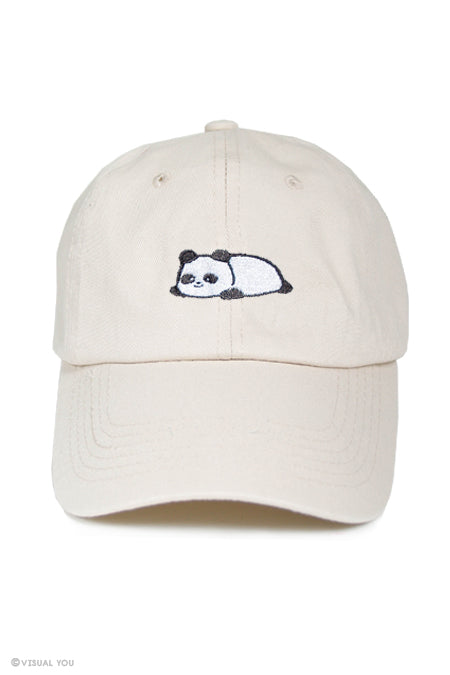 Relaxing Panda Dad Cap