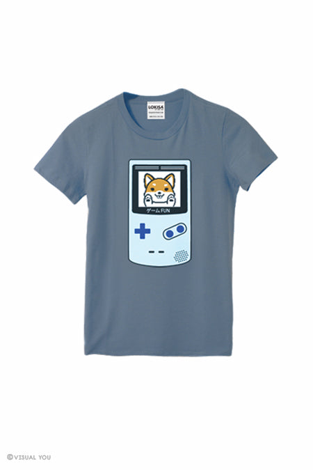 Game Fun ! Video Game Shiba Inu T-Shirt (Kids)