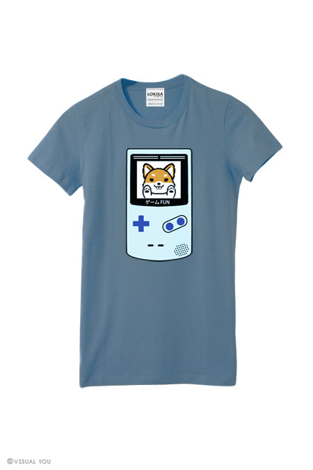 Game Fun ! Video Game Shiba Inu T-Shirt