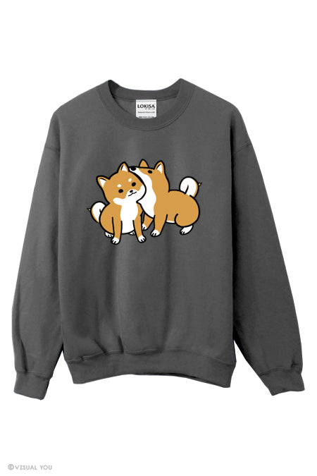 Hungry Love Shiba Sweater