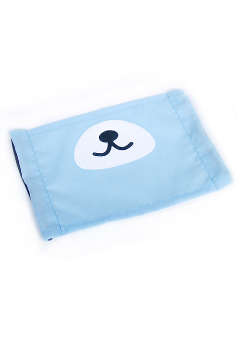 Kuma Bear Snout Face Mask - Light Blue or Mint