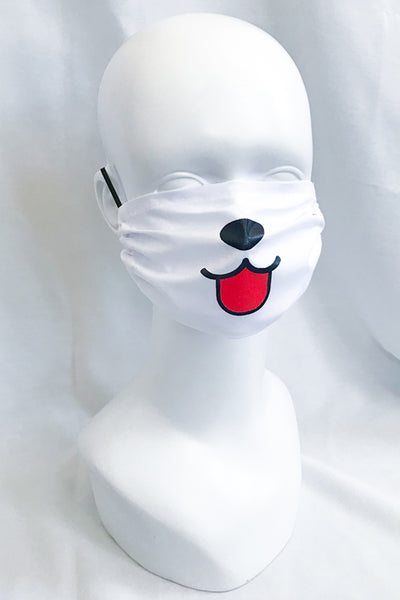 Dog Puppy Face Mask (more designs)