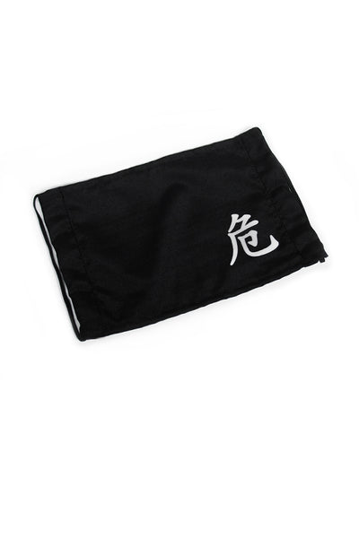 Kanji Fashion Face Mask - 危 Dangerous