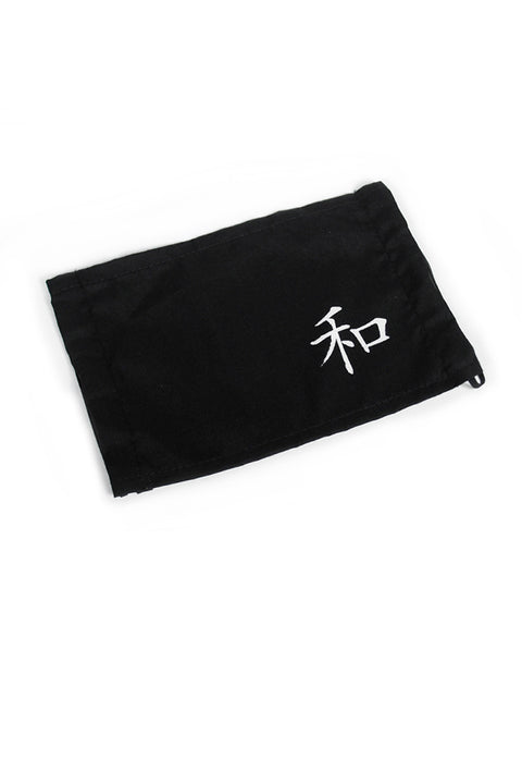 Kanji Fashion Face Mask - 和 Harmony