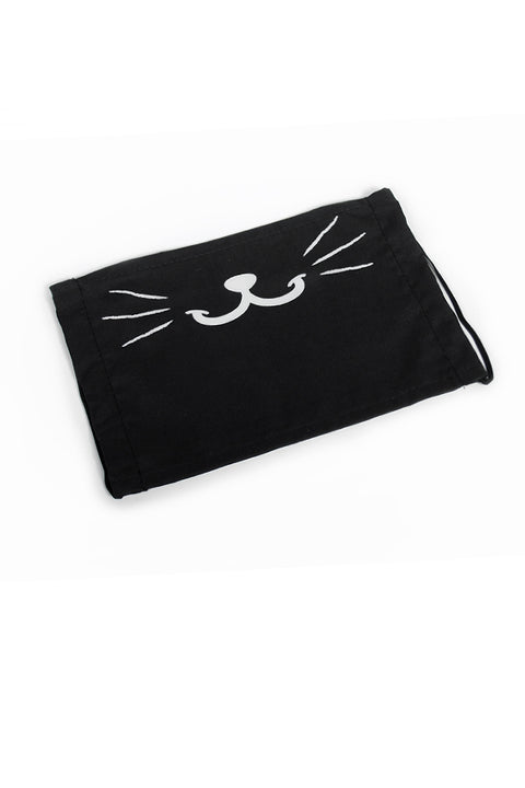Cute Kitty Bunny Face Mask (No Fangs) (more colors)
