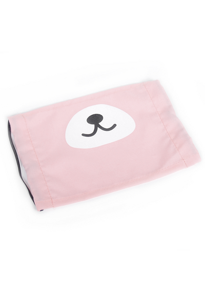 Kuma Bear Snout Fashion Face Mask - Light Purple or Pink