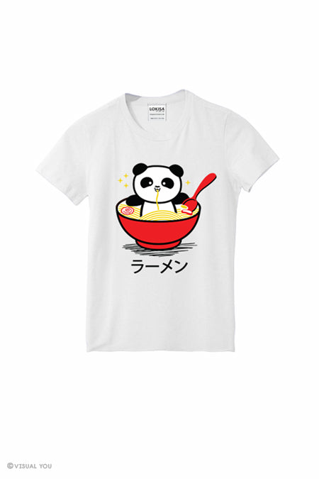 Panda Ramen Bowl T-Shirt (Kids)