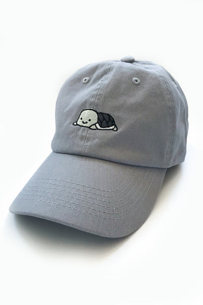 Relaxing Grey Turtle Dad Cap - Light Grey - SAMPLE SALE