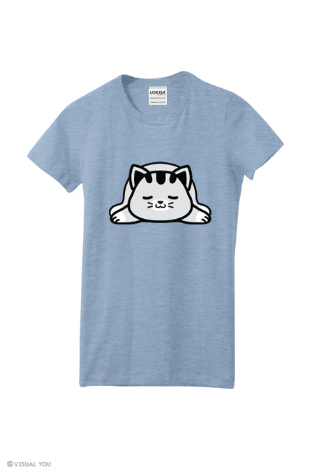 Snoozing Kitty T-Shirt