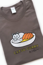 Catsu Curry Kitty Cat T-Shirt