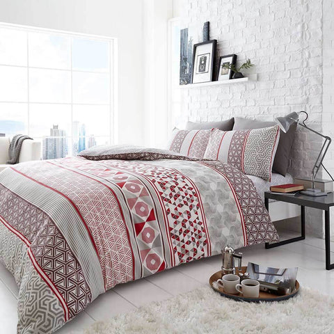 bedding-Helsby Red